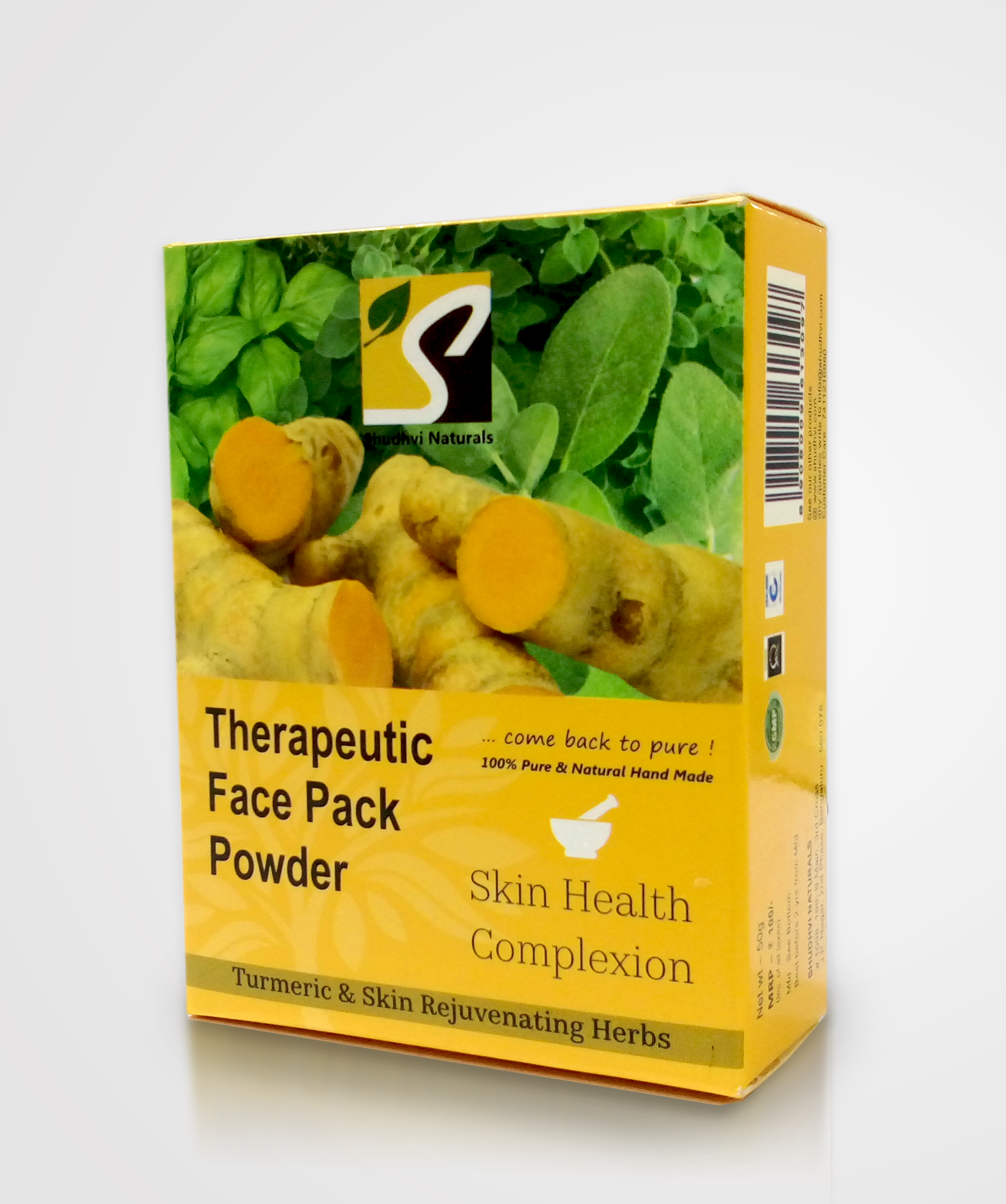 Therapeutic Face Pack Powder